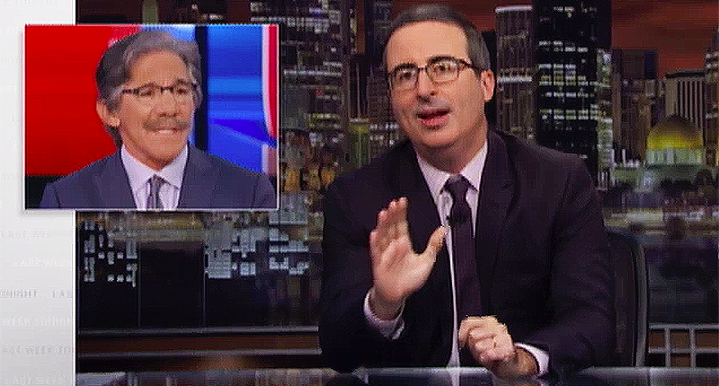 John Oliver leaves skidmarks on 'incredibly stupid' Geraldo and Fox News for conspiracy theories about MAGABomber (rawstory.com)
