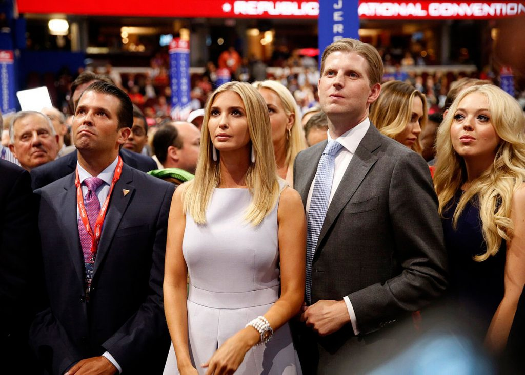 Donald Trump and his gauche offspring hit with civil RICO suit (palmerreport.com)
