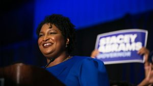Stacey Abrams stands firm on finding justice for voter rights