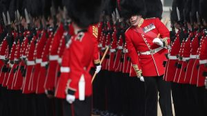 Queen's Guards Arrested After Fight in Fast Food Joint