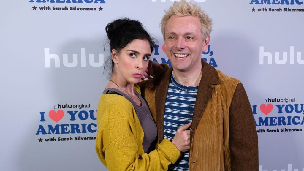 Sarah Silverman and Michael Sheen Broke Up Because of Trump and Brexit (thedailybeast.com)