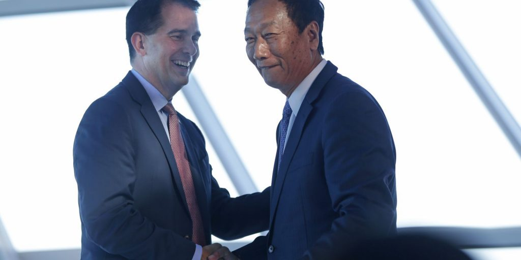 Foxconn Considers Screwing Over Qualified Wisconsin Workers, Bringing Chinese Over