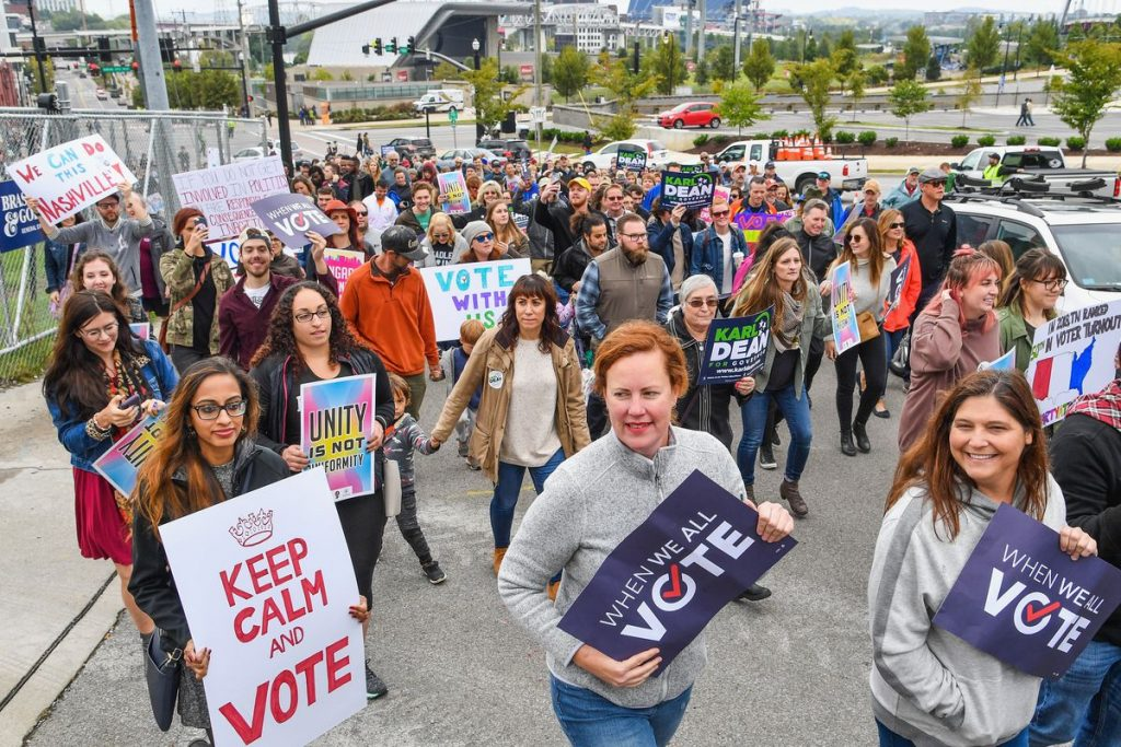 Game Day -1: The youth vote surging and backing Democrats in midterms (theguardian.com)