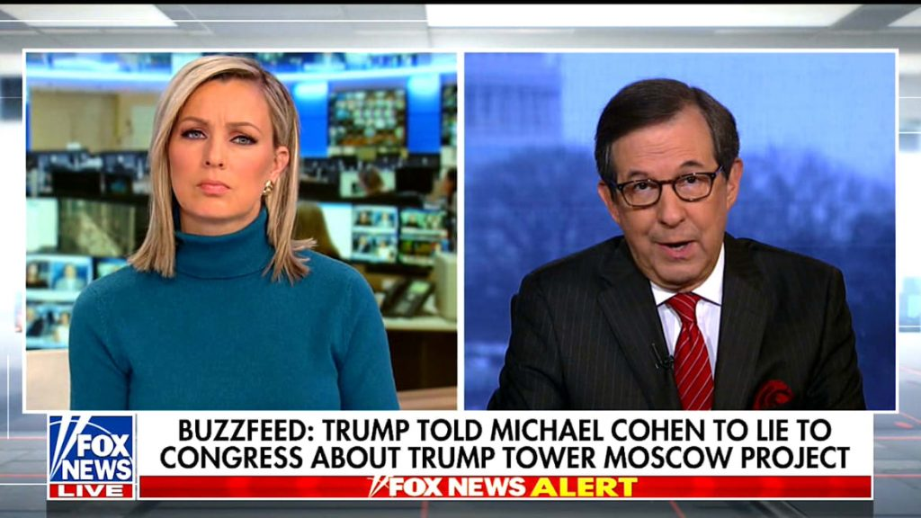 Fox News' Chris Wallace on BuzzFeed Report: 'If True,' Could Get Trump Impeached (thedailybeast.com)