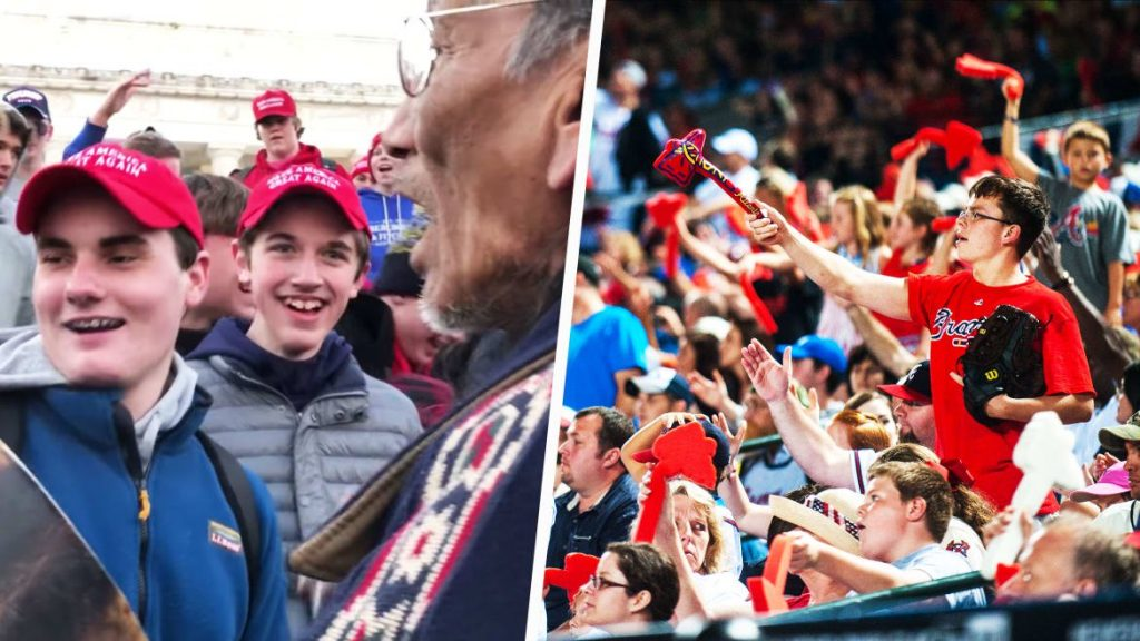 The History of the Covington MAGA Teens' Racist 'Tomahawk Chop' (thedailybeast.com)