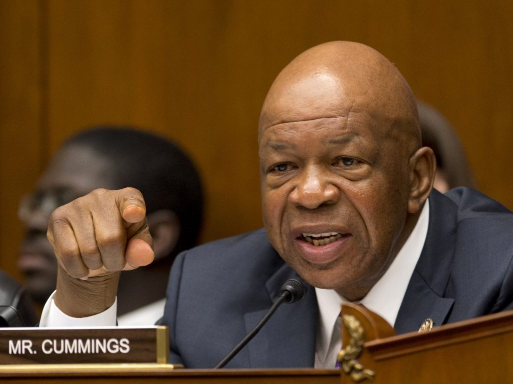 It begins: How Elijah Cummings just made life for Trump and his son-in-law hell on Earth