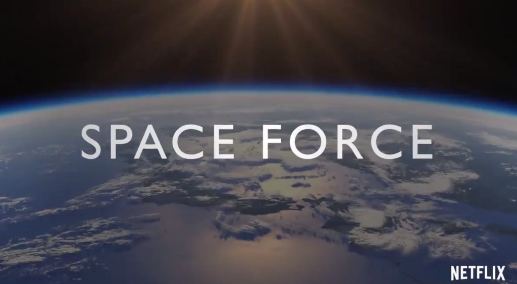 Trump makes Space Force official. There's already a Netflix parody