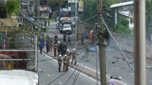 Sri Lanka attacks 'linked to foreign network' (bbc.com)