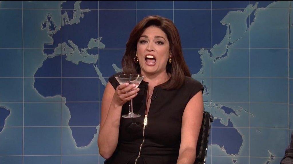 SNL: Drunk Jeanine Pirro Desperately Defends Trump, Terrorizes 'Weekend Update' Desk (thedailybeast.com)