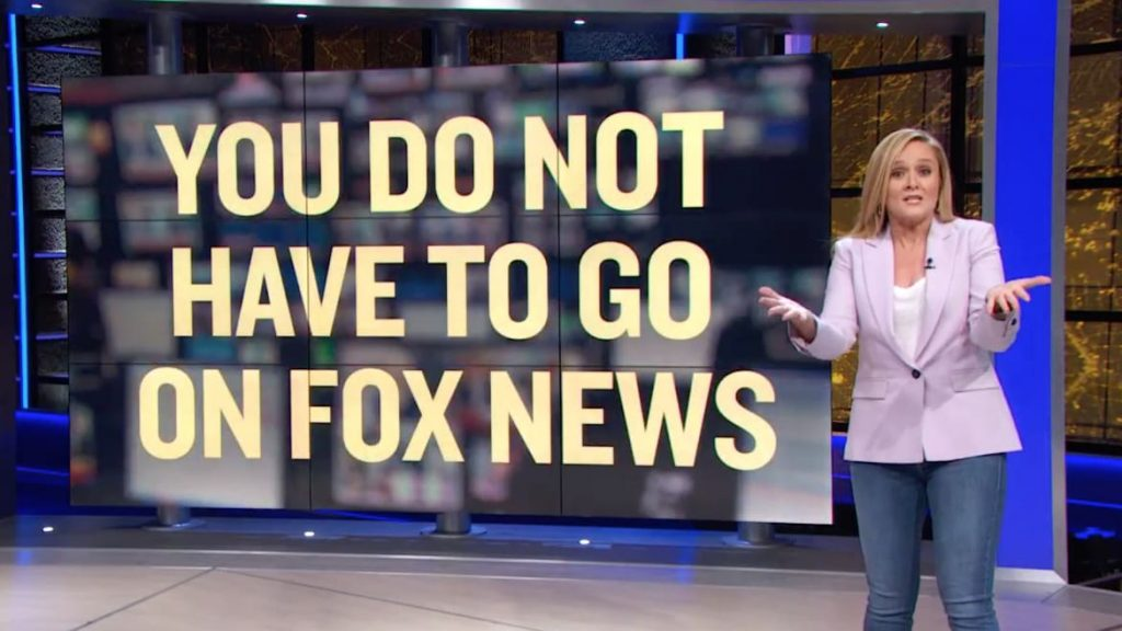 Samantha Bee Goes Off on Democrats for 'Legitimizing' Fox News: 'You Just Look Stupid' (thedailybeast.com)