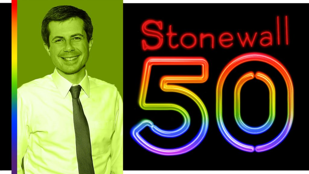 Pete Buttigieg: I'm Proud to Be Standing on the Shoulders of Giants in a Tradition That Goes Back to Stonewall (thedailybeast.com)