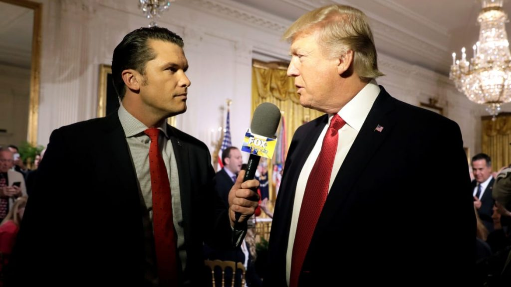 Fox News Host Pete Hegseth Getting Married to Colleague at Trump's New Jersey Club (thedailybeast.com)