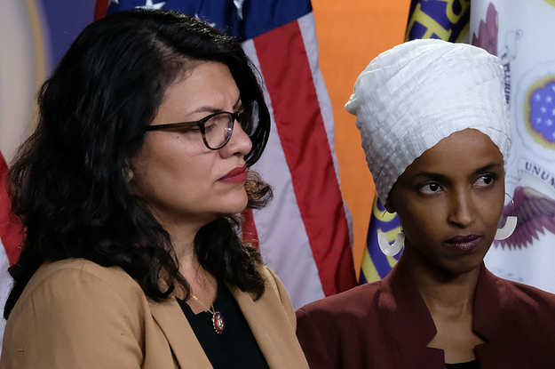 Rashida Tlaib And Ilhan Omar Have Been Barred From Visiting Israel (buzzfeednews.com)