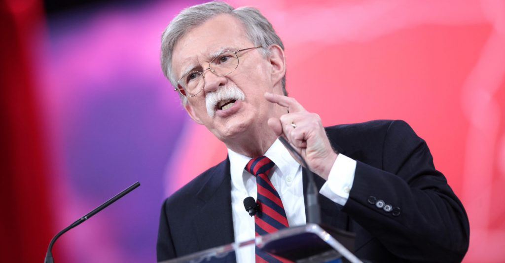 It's Infrastructure Week Again as Bolton Resigns! Grab Your Bolton-Trump Popcorn…