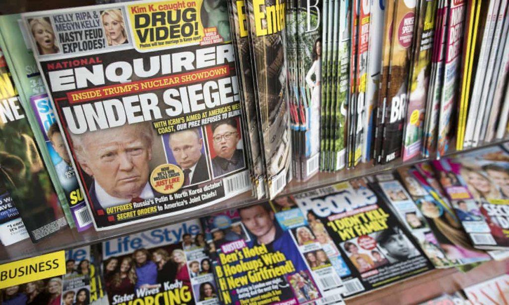 "Ronan Farrow's ""Catch and Kill: National Enquirer shredded Trump documents, Ronan Farrow book claims (theguardian.com)"
