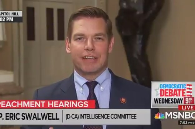 Eric Swalwell Denies Ripping An Absolutely Enormous Fart On National Television (buzzfeednews.com)
