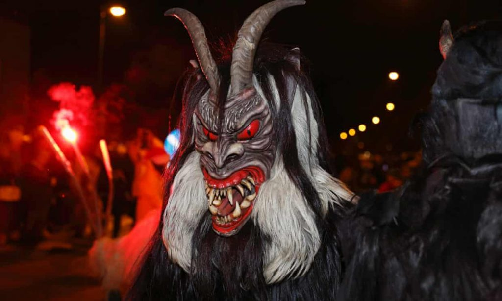 Austria struggles with marauding Krampus demons gone rogue (theguardian.com)