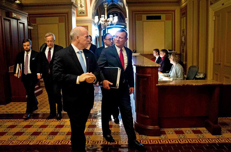 Senate Opens Trump Impeachment Trial with Solemn Ceremony — as New Ukraine Revelations Emerge (nytimes.com)