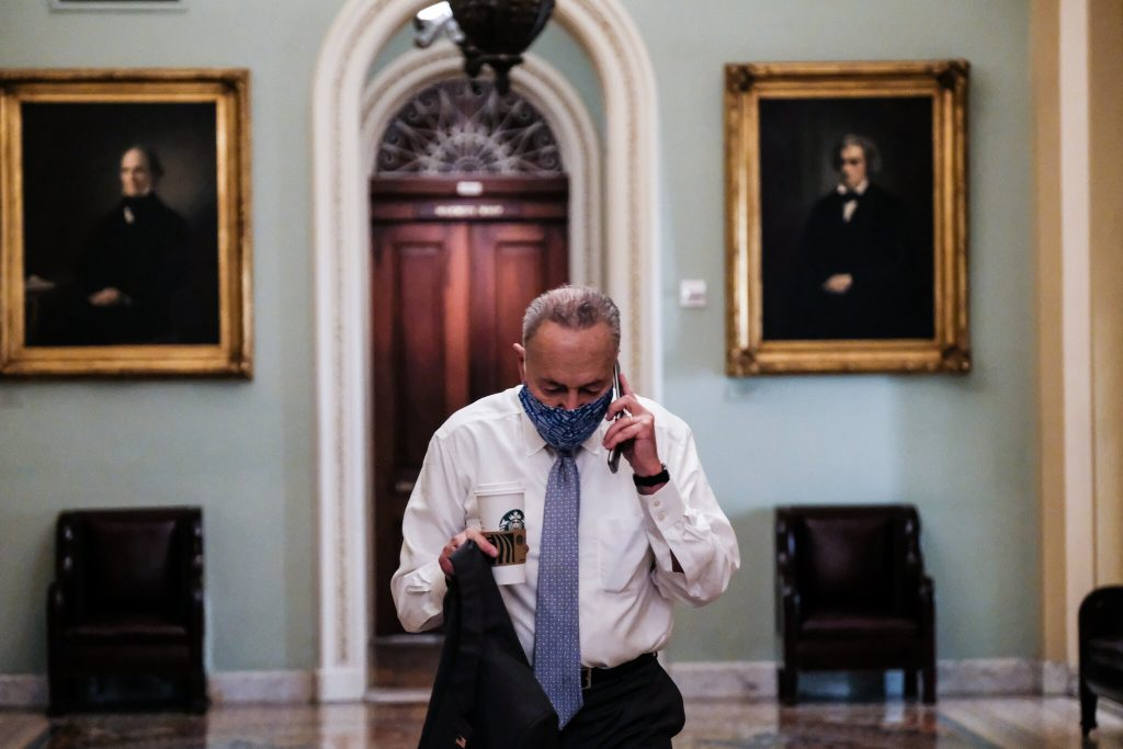 Schumer, Democrats Knock Down McConnell's Attempt to Protect the Filibuster (politicususa.com)