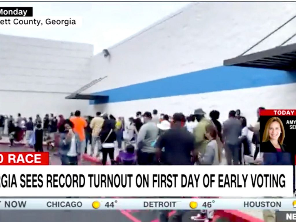 Nonwhite Georgia voters have to wait in line for hours. Here are 2 critical reasons why (alternet.org)