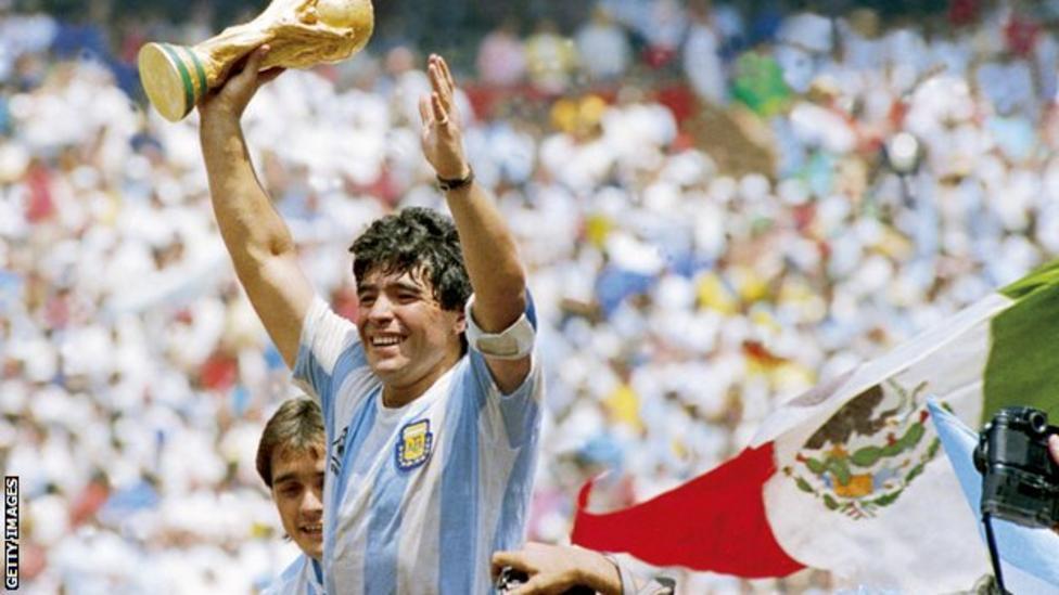 Diego Maradona, legendary Argentinian soccer superstar, dies aged 60 (bbc.com)