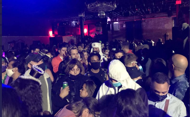 NYC sheriff shuts down big Halloween party in East Williamsburg warehouse (nydailynews.com)