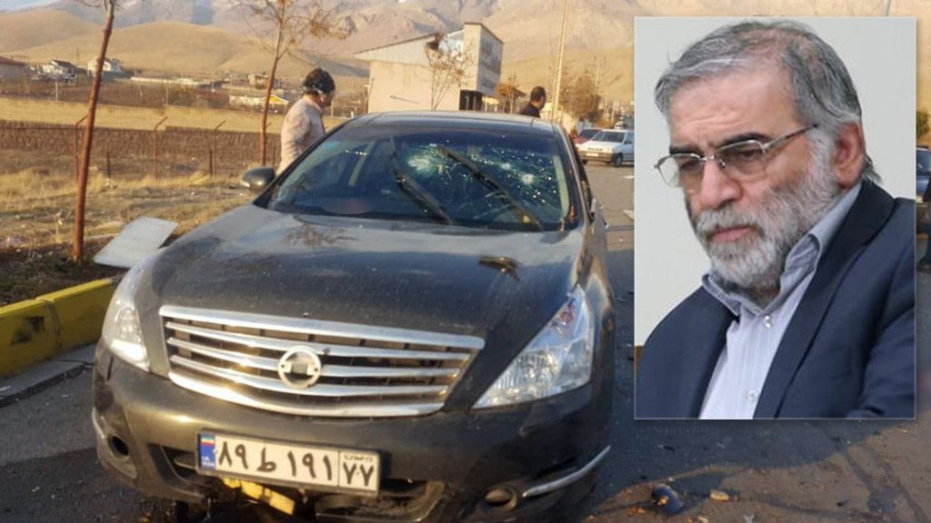 Top Iranian nuclear scientist Mohsen Fakhrizadeh assassinated near Tehran: reports (rawstory.com)