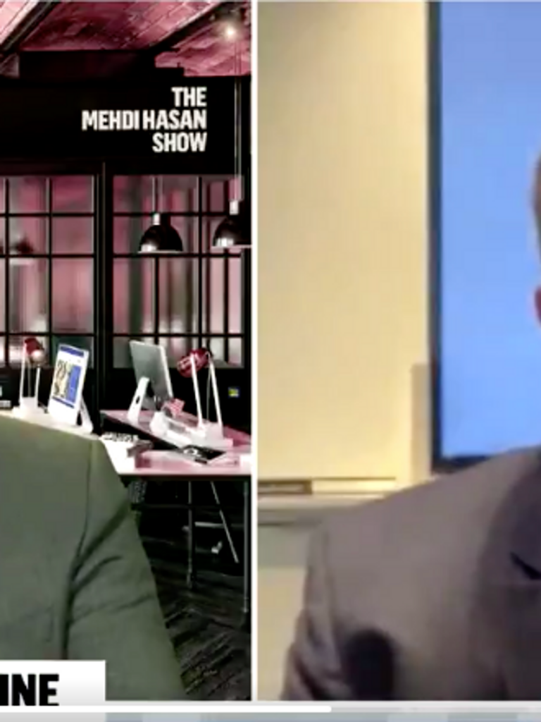 'Do you feel embarrassed?' Journalist Mehdi Hasan grills Newsmax CEO on why he airs claim COVID is a 'scam' (alternet.org)