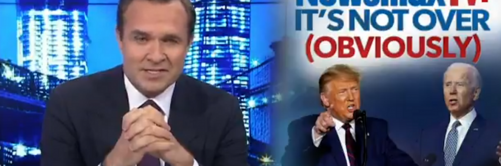 Meet the new Sean Hannity on one right-wing cable network where Trump has not lost the election — yet (alternet.org)