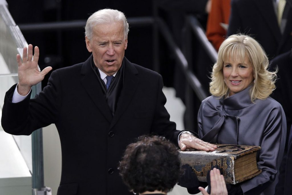 A NEW ERA Biden Sworn In as 46th President of the United States