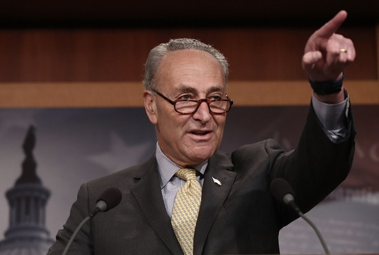MITCH CAVES!  Chuck Schumer becomes Senate Majority Leader