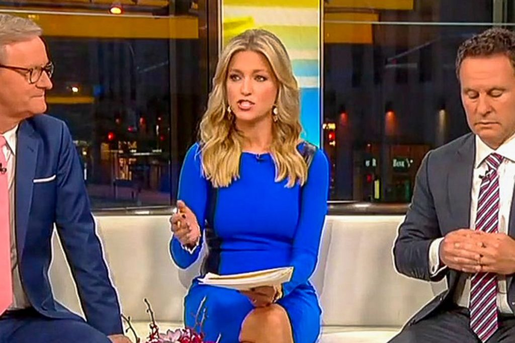Fox & Friends host: No one can deny that Trump works hard because 'he watches every show' (rawstory.com)