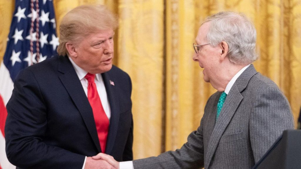 Senate Republicans at odds on the future of Trump and the GOP (alternet.org)