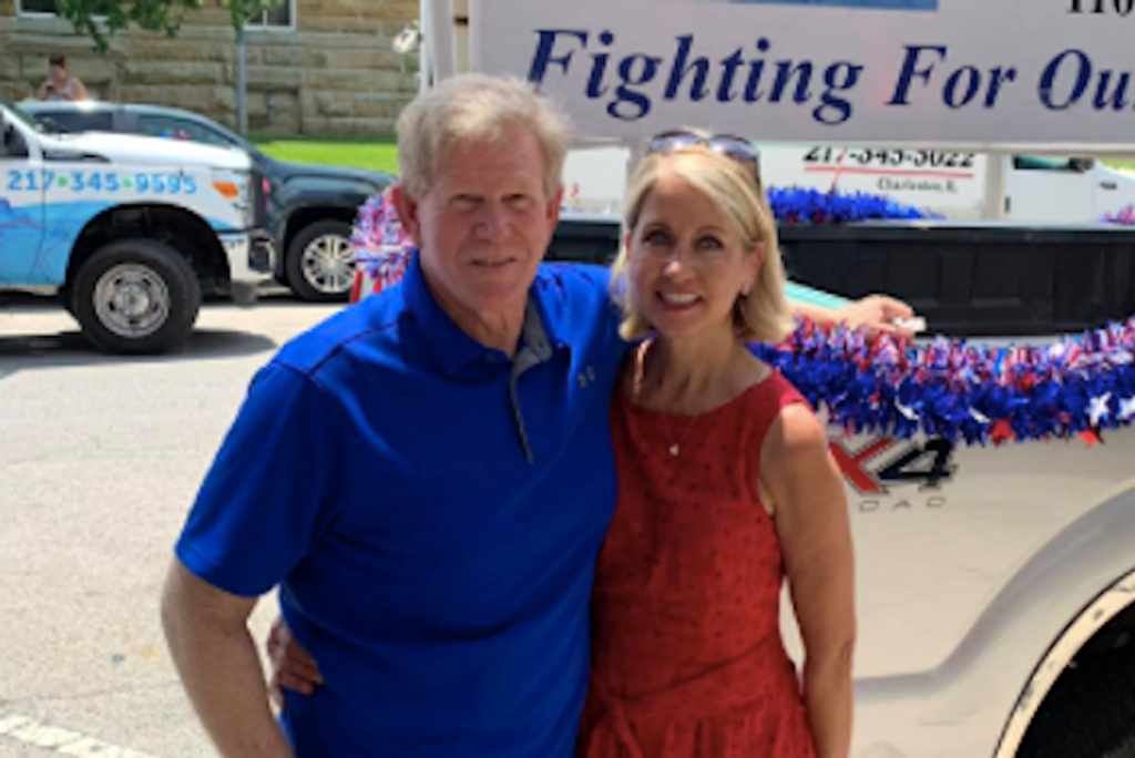 GOP lawmaker's husband linked to Three Percenter pickup parked outside Capitol during insurrection (rawstory.com)