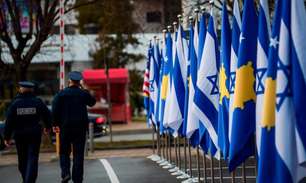 Kosovo opens embassy in Jerusalem after Israel recognises its independence (theguardian.com)