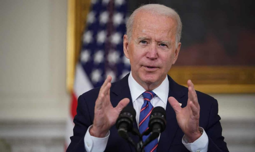 Joe Biden to reveal US emissions pledge in key climate crisis moment (theguardian.com)