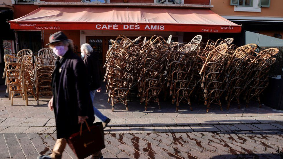 France enters third national COVID lockdown amid ICU surge (bbc.com)