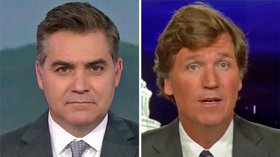 WATCH: Jim Acosta drops KKK quip during report on Tucker Carlson and white supremacy (rawstory.com)
