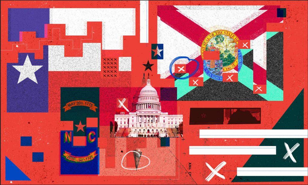 'Putin-style democracy': how Republicans gerrymander the map (theguardian.com)