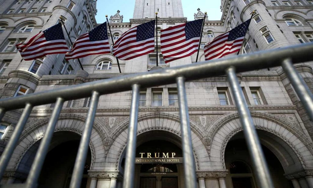 Trump Hotel raised prices to deter QAnon conspiracists, police files show (theguardian.com)