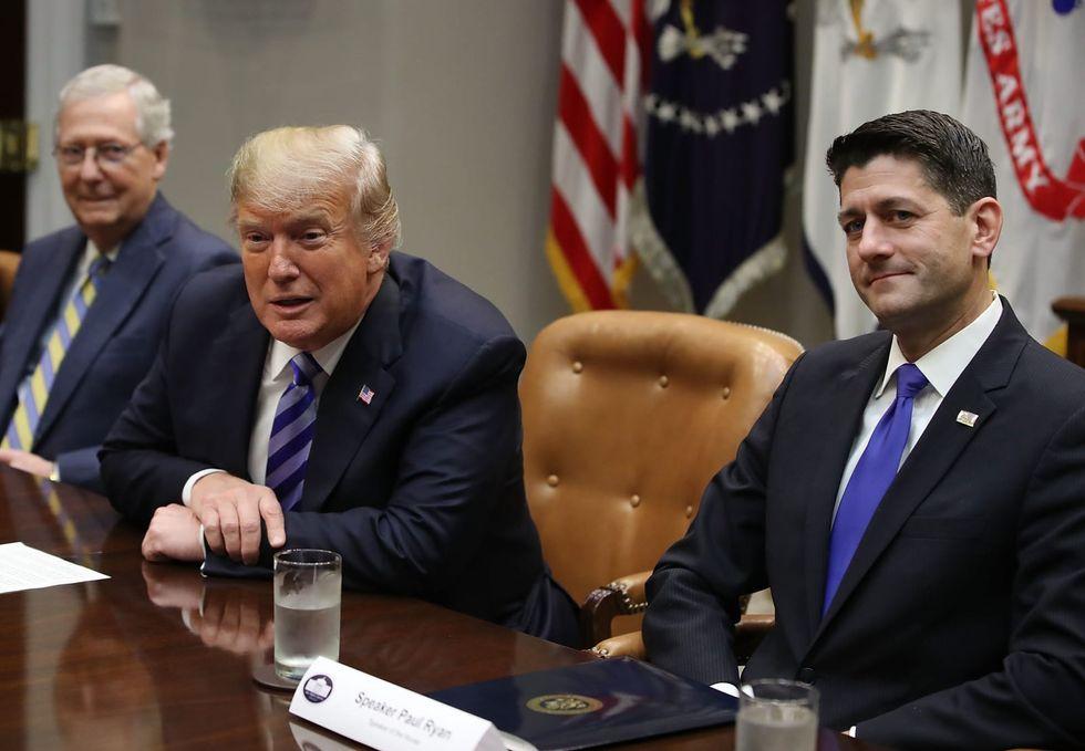 Trump rages at 'weak and ineffective' former GOP House Speaker Paul Ryan (rawstory.com)