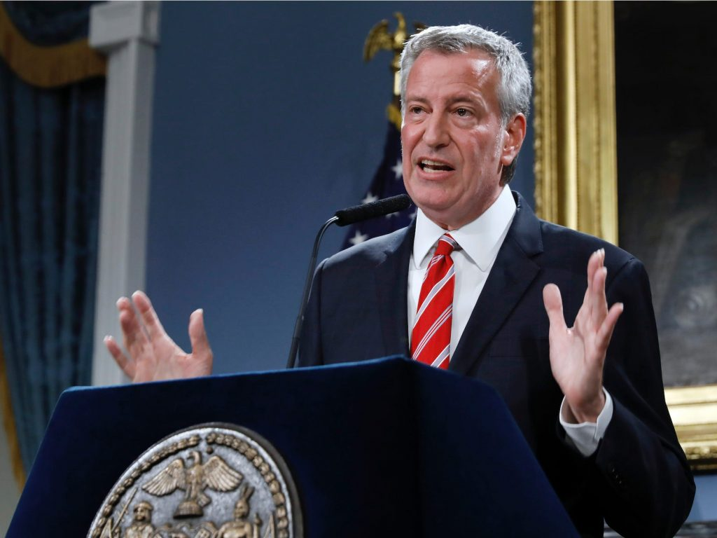 Bill de Blasio criticizes the field of NYC mayoral candidates: 'Is this really as good as it gets?' (businessinsider.com)