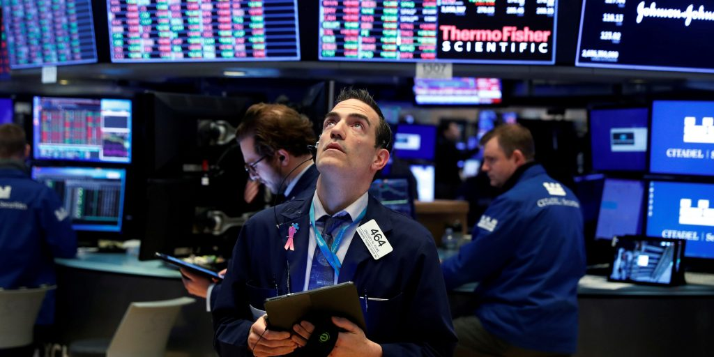 US stocks trade mixed with Nasdaq at a record high as investors weigh recovery signals (markets.businessinsider.com)