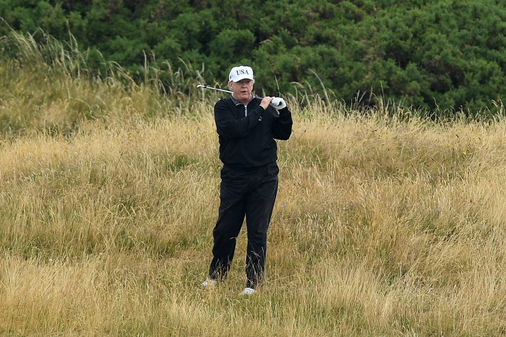Taxpayers reportedly shelled out $2.4 million to fund Trump's golf visits in New Jersey (businessinsider.com)
