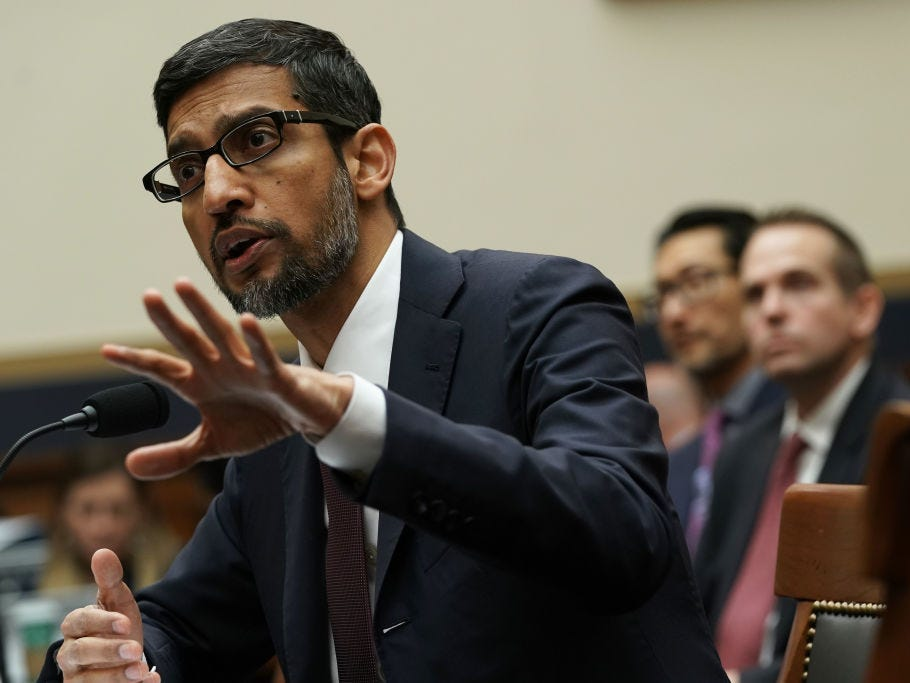 Google insiders say they're unhappy with its risk-averse style as the company grows, with 36 VPs quitting in a year (businessinsider.com)