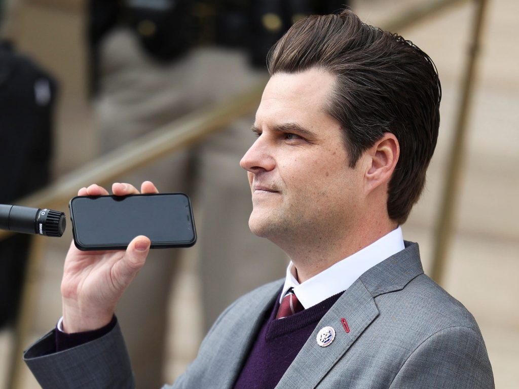Matt Gaetz tweeted that the FBI should be defunded, then deleted it. He's still being probed by the bureau. (businessinsider.com)
