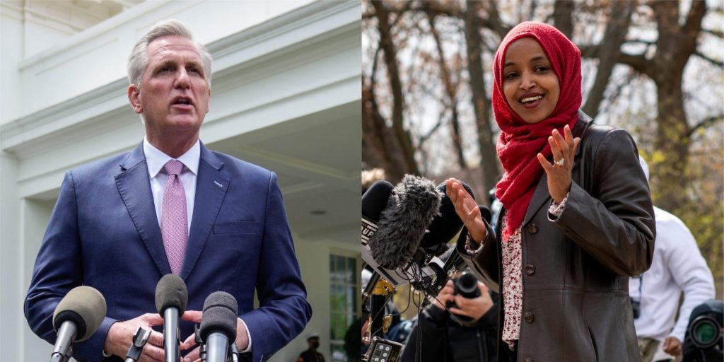 Kevin McCarthy won't let go of the GOP's smear campaign against Ilhan Omar, but Democrats have moved on (businessinsider.com)