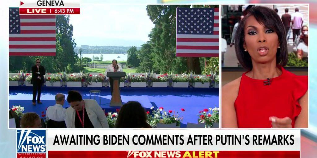 Fox News host Harris Faulkner complimented Vladimir Putin for answering questions for longer than Joe Biden – before the US president even spoke (businessinsider.com)