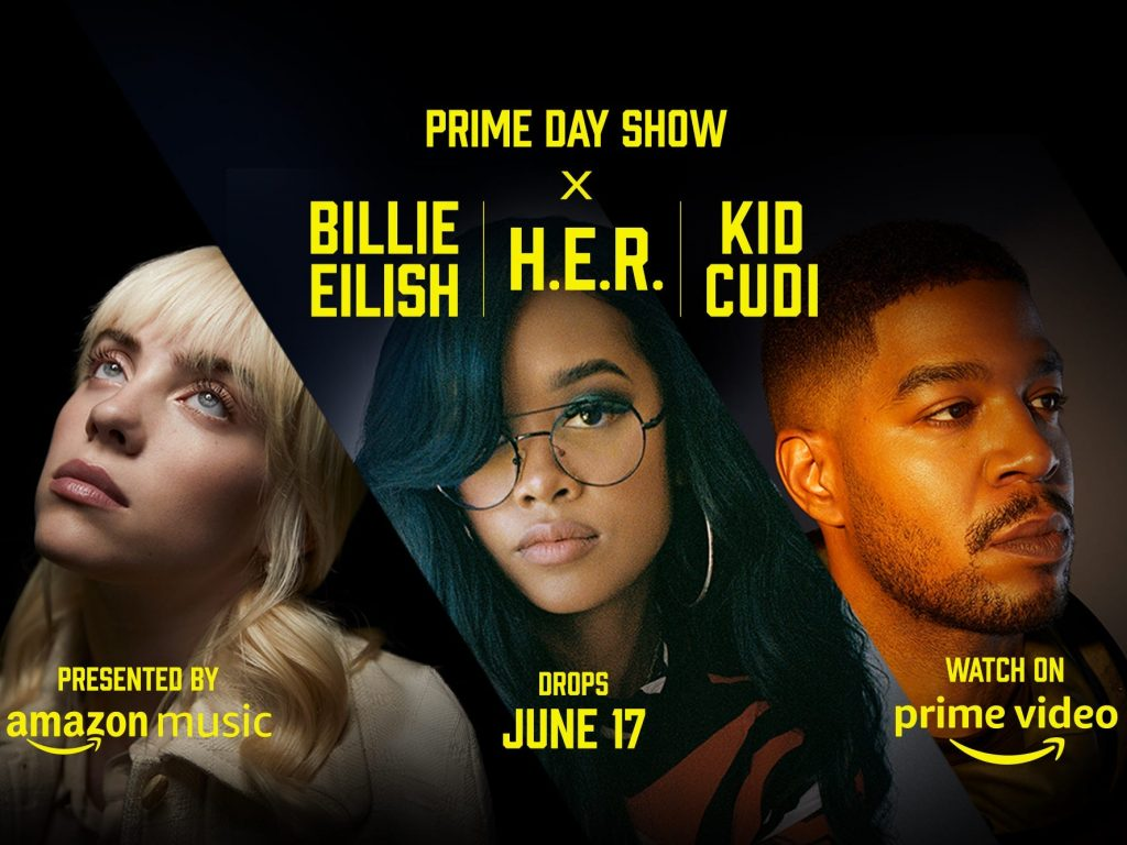 Amazon's Prime Day Show features performances by Billie Eilish, Kid Cudi, and H.E.R. – here's how to watch for free on June 17 (businessinsider.com)