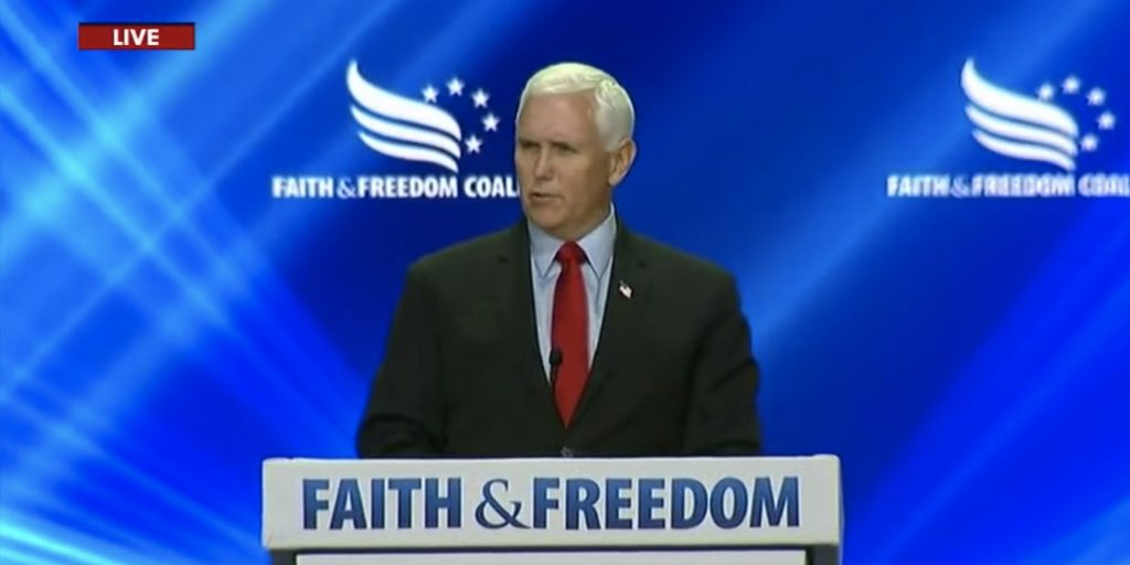 Mike Pence was booed and heckled with chants of 'TRAITOR!' at a conservative conference (businessinsider.com)